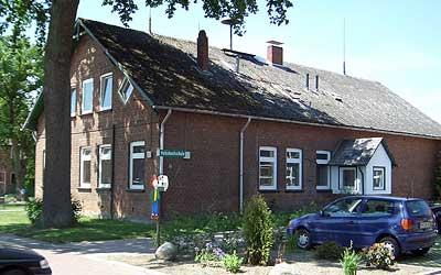 Die ehemalige Hausmeisterwohnung wird zur Krippeneinrichtung umgebaut